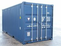 20F ONSITE STORAGE CONTAINER FOR HIRE - 4 WEEKS FREE