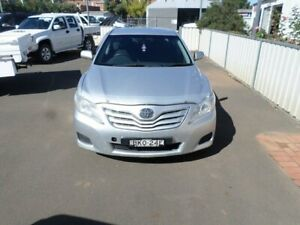 2009 Toyota Camry ACV40R Altise Silver & Blue 5 Speed Automatic Sedan Young Young Area Preview