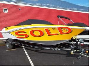 SOLD!!! 2014 GLASTRON GT 205