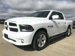 2015 Ram 1500 Sport Crew 4x4 ~ LOADED ~ Hemi ~ 8 Speed $291 B/W