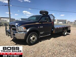2013 Ram 4500 SLT Flat Deck!! 4x4!! Cummins Diesel!!