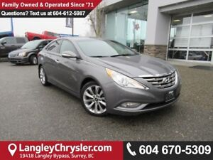 2013 Hyundai Sonata 2.0T Limited <b>*LOW KMS*LEATHER*DUAL ZON...