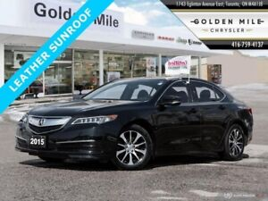 2015 Acura TLX 4DR BACK UP CAMERA LEATHER SUNROOF
