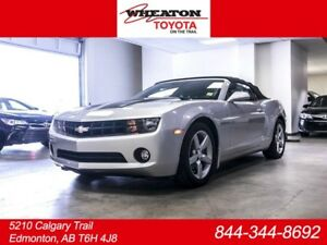 2012 Chevrolet Camaro LT, Convertible, 3M Hood, Leather, Heated