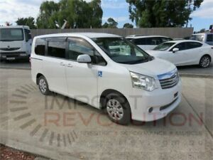2010 Toyota Noah ZZR70W White Constant Variable Van Bayswater Knox Area Preview