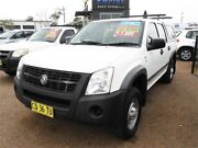2007 Holden Rodeo RA MY07 LX Crew Cab 4x2 White 4 Speed Automatic Utility Colyton Penrith Area Preview