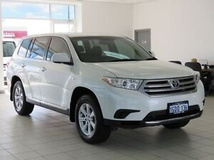 2013 Toyota Kluger GSU40R MY13 Upgrade KX-R (FWD) 7 Seat Crystal Pearl 5 Speed Automatic Wagon Morley Bayswater Area Preview