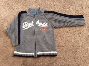 Children's Place Toddler Boys Zipped Sweater, Size 18M