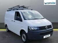 2012 Volkswagen Transporter 2.0 TDI BlueMotion Tech 84PS Van Diesel white Manual