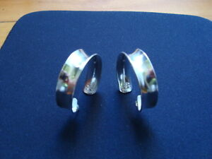 WOMANS STERLING SILVER EARRINGS .925 West Island Greater Montréal image 3