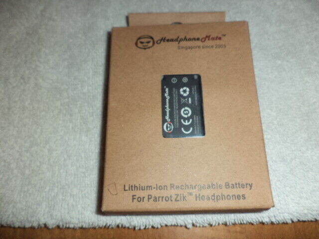 New Headphone Mate Rechargeable Lithium-Ion Battery For Parrot Zik Headphones