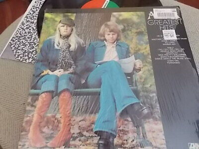ABBA GREATEST HITS GREATEST HITS  LP  SD 18189 OPEN SHRINK WRAP   EXCELLENT