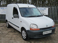 RENAULT KANGOO VAN 1.9 D 665 WHITE PANEL VAN 106K LONG MOT JAN 2019 / NO VAT!!!!