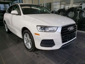 2016 Audi Q3 KOMFORT, ACCIDENT FREE, HEATED SEATS, SUNROOF, ACC