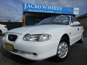 1997 Hyundai Sonata GLE White 4 Speed Automatic Sedan Bankstown Bankstown Area Preview