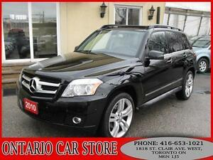 2010 Mercedes-Benz GLK350 4-MATIC LEATHER PANO.SUNROOF