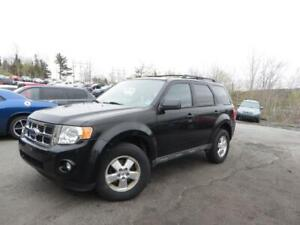 FROM ALBERTA 88$ BI WEEKLY OAC! 2009Escape XLT - MANUAL TRANSMIS