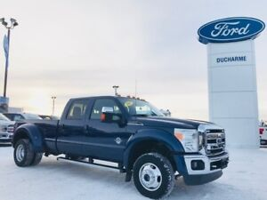 2012 Ford F-450 Lariat, Leather, DPF Delete, 1 Owner, LOADED!