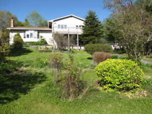 East Chezzetcook, home with 3 acres for sell