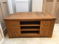 Next, Cambridge Oak Corner TV Cabinet and Coffee Table