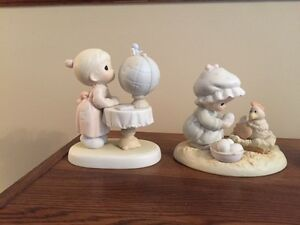 4 Precious Precious Moments figurines Kitchener / Waterloo Kitchener Area image 2