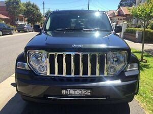 2009 Jeep Cherokee KK 3.7 LIMITED Black Automatic SUV Croydon Burwood Area Preview