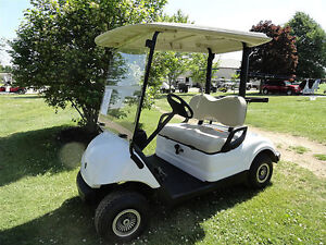 2013 YAMAHA GOLF CART - GAS - JUST OFF OF A 3 YEAR COMPANY LEASE