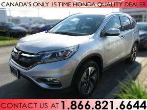 2016 Honda CR-V TOURING | 1 OWNER