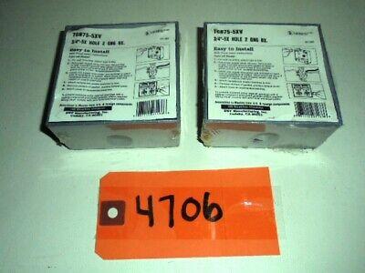 Electric Outlet Gang Box Tgb75-5xv  34-5x Hole 2 Gng Bx. Freeship