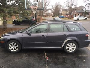 2007 Mazda Mazda6 Wagon - 5 speed  **AS IS** $1000