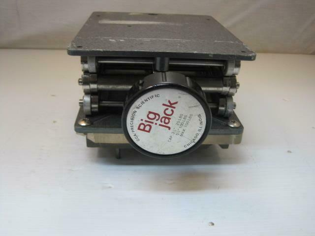 13801 GCA/Precision Scientific Big Jack Laboratory with Bench Mount Lathe GUC