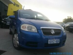2006 Holden Barina TK MY07 Blue 5 Speed Manual Sedan Welshpool Canning Area Preview