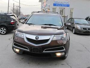 2010 Acura MDX Tech Pkg Loaded AWD Clean carproof Navigation SR