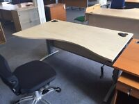 NEW HEIGHT ADJUSTABLE DESK - BARGAIN