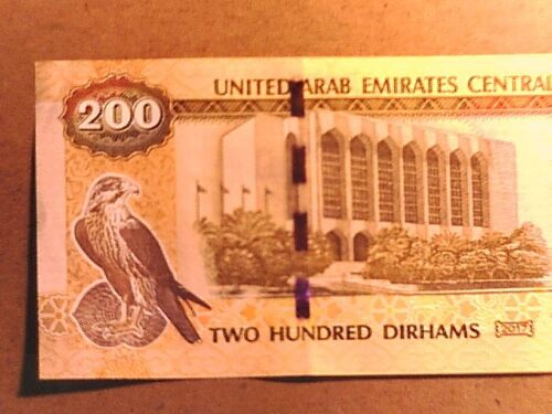 UNITED ARAB EMIRATES 2017 200 Dirhams UNC