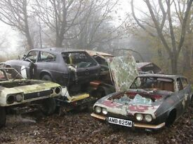 Old cars wanted. Also scrap cars