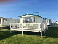 STATIC CARAVAN WITH DECKING, NR GREAT YARMOUTH, NORFOLK NOT CAISTER OR HEMSBY