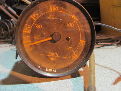 OEM Yamaha Outboard speed gauge analog