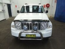 2011 Jeep Cherokee KK Limited (4x4) White 5 Speed Automatic Wagon Cardiff Lake Macquarie Area Preview