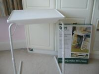 New Coopers Fully Adjustable Chair or bed Table / lap Tray - southbourne