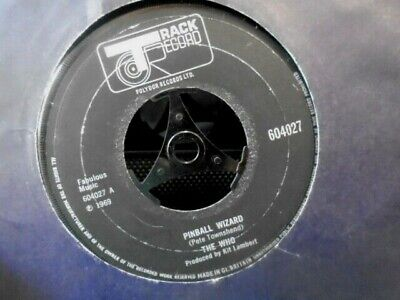 """THE WHO """" PINBALL WIZARD """" Or. UK TRACK EX- COND."""
