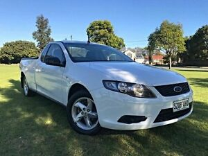 2008 Ford Falcon FG Ute Super Cab White 4 Speed Sports Automatic Utility Somerton Park Holdfast Bay Preview