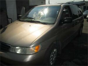 honda odyssey 2004 7 places,full load propre