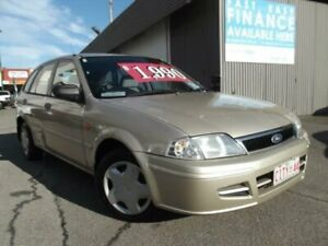 2001 Ford Laser LXI Gold Manual Wagon