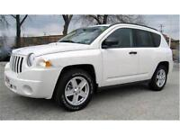 2007 Jeep Compass 4 Door Limited 109,000 KMS! Leather 4X4 $9,900