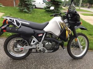 2006 Kawasaki KLR 650 – Silver and Black