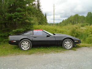 1984 CORVETTE  383 STOKER WITH OVER DRIVE  TRANSMISSION
