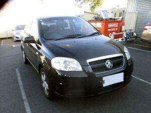 2006 Holden Barina TK Black 4 Speed Automatic Sedan Moorabbin Kingston Area Preview