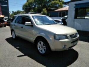2006 Ford Territory SY Ghia AWD Gold 6 Speed Sports Automatic Wagon Sutherland Sutherland Area Preview