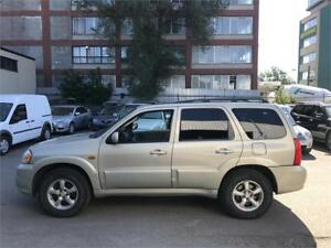 2005 Mazda Tribute 4X4 6Cylinder 3.0L A/C, Cuir, Toit ouvrant